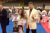 Екатерина Фурсова – серебряный призёр Кубка Европы по киокушинкай каратэ