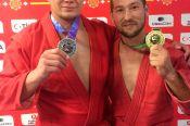 Самбисты Сергей Демьяненко и Владимир Жданов – призёры III Всемирных игр кочевников