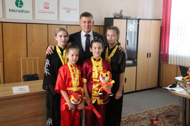 Участники X Международного турнира китайских боевых искусств