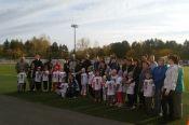 Прошёл легкоатлетический кросс среди детей подготовительных групп Детского сада №260