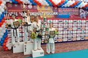 Екатерина Фурсова заняла призовое место на чемпионате России по киокусинкай