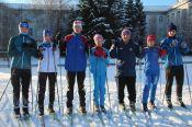 Спортсмены Алтайского училища олимпийского резерва провели первую тренировку на лыжах