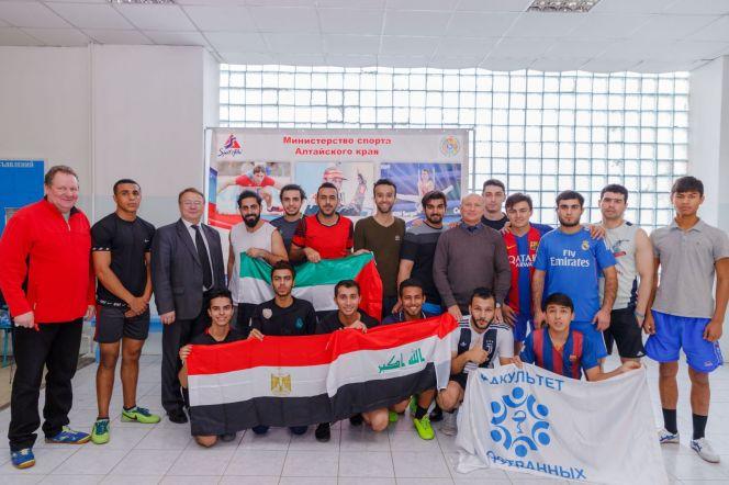 Студенческий турнир по мини-футболу