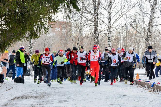 Барнаульский клуб любителей бега «Восток» открыл зимний сезон соревнованиями в День народного единства