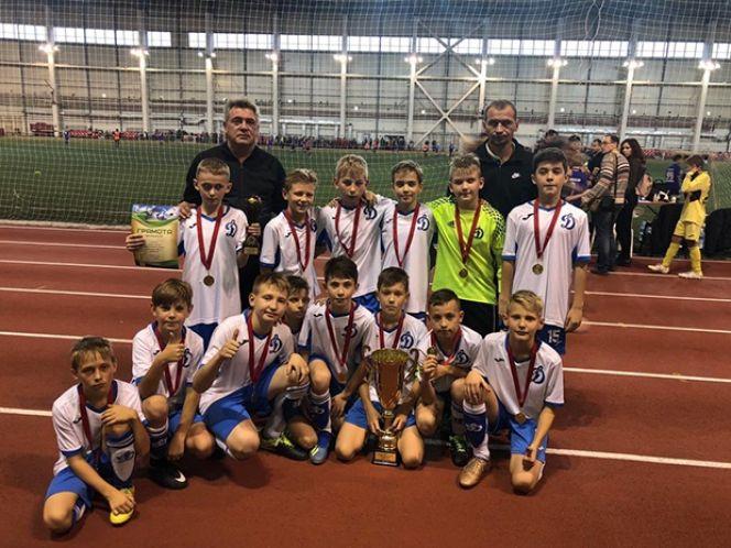 Футболисты «Динамо-2008» выиграли представительный детский турнир «Kazan cup»