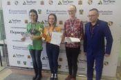 Виктория Лоскутова - победительница, Дарья Дивеева - бронзовый призёр первенства СФО по блицу