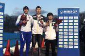 Виктор Муштаков завоевал первую в своей взрослой спортивной карьере медаль этапа Кубка мира