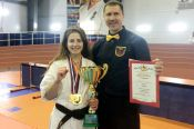 Екатерина Фурсова стала чемпионкой России среди женщин по киокусинкай