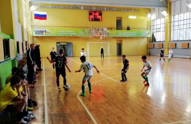Первенство Алтайского края по мини-футболу среди команд 2006 года рождения. Фото: Леонид Гаврилюк