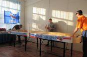 В Бийске состоялись краевые соревнования по настольному теннису среди незрячих