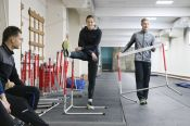 В отремонтированном манеже АУОР начались тренировки с участием Сергея Шубенкова и других ведущих легкоатлетов края