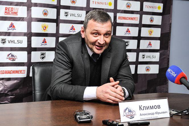 Фото с официального сайта ХК «Алтай». Александр Климов, главный тренер «Алтая»