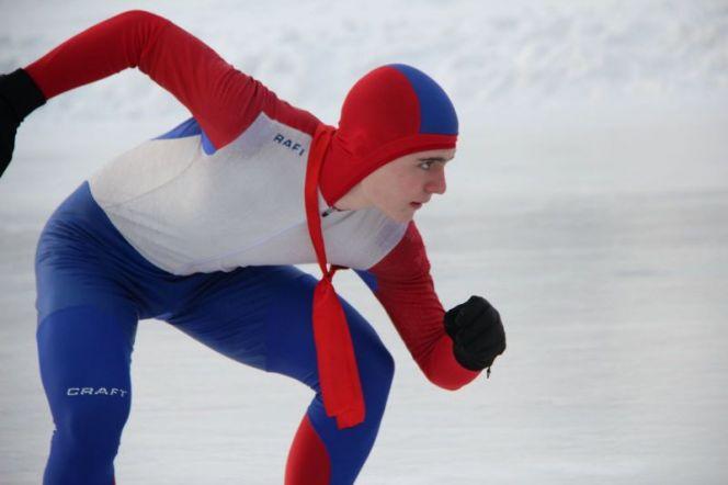 Краевые соревнования по конькобежному спорту