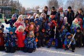 Детсадовцы Зонального района присоединились к Дню снега