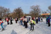 Рубцовчане отметили День снега