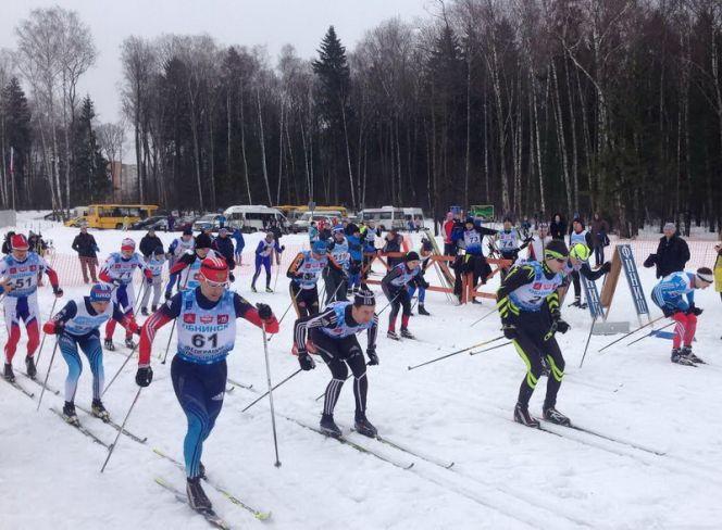 Краевые соревнования по лыжным гонкам среди ветеранов