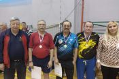 В Новосибирске прошёл всероссийский турнир ветеранов по настольному теннису