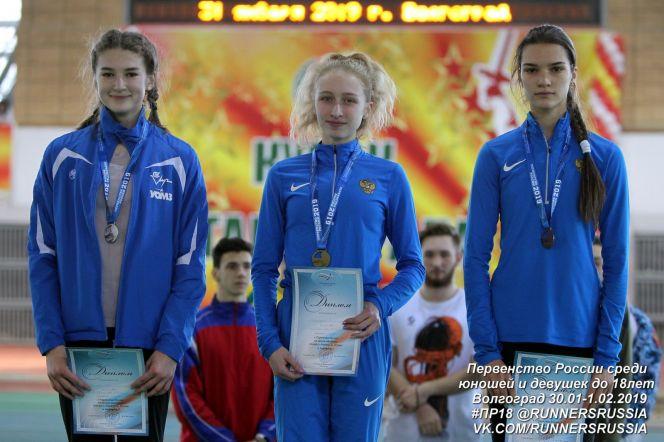 Анжелика Паренчук - победительница первенства России среди спортсменов до 18 лет