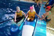 Бийские рафтингистки прекрасно показали себя на открытом чемпионате по гребному слалому и рафтингу