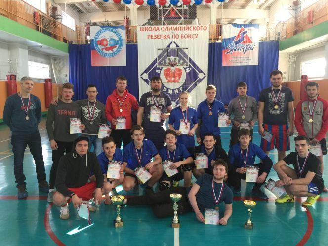 Чемпионат края по футзалу среди инваспортсменов