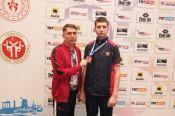 Алексей Каратаев - бронзовый призёр Кубка президента ВТФ в Турции