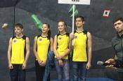 Юношеская сборная края - третий призёр первенства СФО по боулдерингу