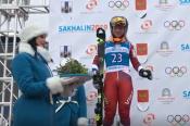Софья Назаренко завоевала серебро I зимних Международных спортивных игр «Дети Азии» в слаломе