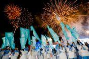 В последний день I зимних Международных игр «Дети Азии» Анастасия Гришина завоевала серебро в эстафете «Дружбы»