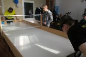 В Бийске прошёл краевой чемпионат по настольному теннису среди спортсменов с нарушением зрения