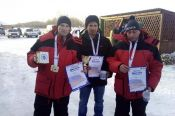 Команда Первомайского района - победительница XXXIV зимней олимпиады сельских спортсменов Алтайского края по рыболовному спорту