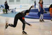 Алиса Беккер - победительница первенства России среди девушек до 17 лет в масстарте