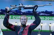 Сергей Каменский - победитель индийского этапа Кубка мира в стрельбе из пневматической винтовки