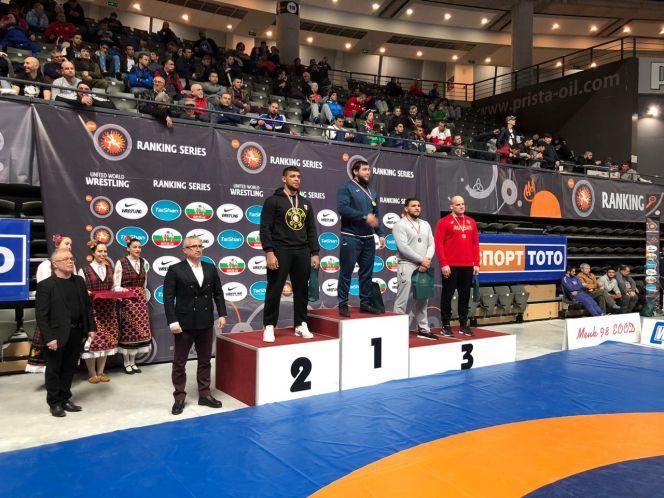 Виталий Щур - бронзовый призёр международного турнира в Болгарии
