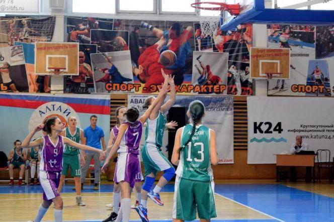 Финал ШБЛ «КЭС-Баскет» в Сибирском федеральном округе