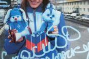 Яне Кирпиченко вручены подарки от учащихся барнаульской школы-интерната №4