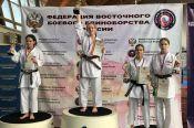 Инесса Цыганкова - победительница первенства России в сётокан-кумите