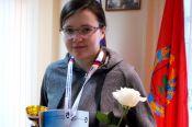 Дарья Ануфриенко выиграла чемпионат края по быстрым шахматам среди женщин