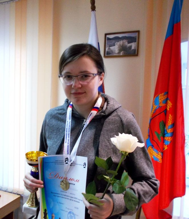 Чемпионат края по быстрым шахматам среди женщин