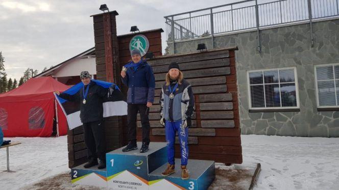 Иван Лыжин - победитель Международных соревнований спортсменов-ветеранов по биатлону. Фото: Барнаульская федерация биатлона