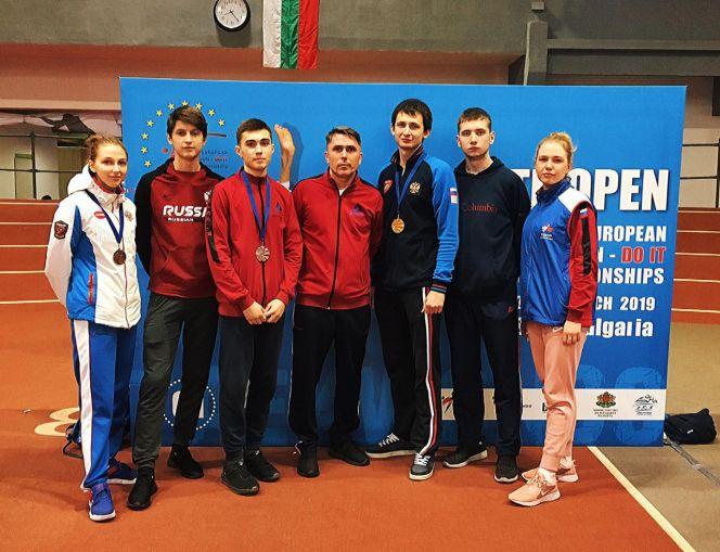 Спортсмены СШОР «Олимпийские надежды» завоевали 4 медали на МультиЕвропейских играх в Софии