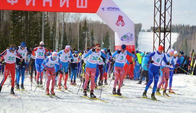 В Тягуне юбилейным марафоном закрыли зимний спортивный сезон в Алтайском крае