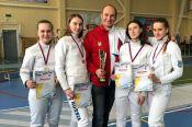"""Саблистки """"Алтая"""" выиграли серебро на командном чемпионате СФО"""
