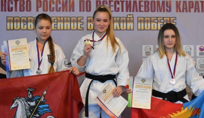 Алтайские спортсмены завоевали четыре медали на первенстве России по всестилевому каратэ