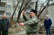 В Барнауле прошли соревнования по спортивному метанию ножа и универсальному бою среди казачьей молодежи