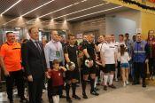 Команда органов власти Алтайского края сыграла товарищеский матч по мини-футболу со сборной общественных объединений региона