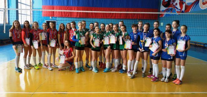 Команда девушек барнаульской СШОР №2 выиграла краевое первенство