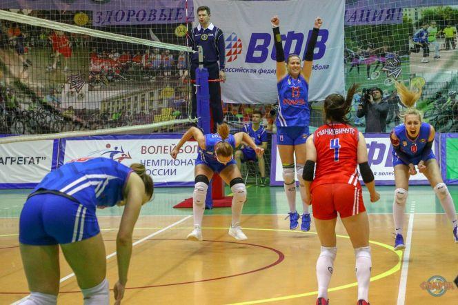 Воспитанница алтайского волейбола Ольга Лифанова стала победительницей чемпионата России в Высшей лиге «А» в составе нижегородской «Спарты»