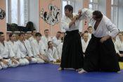 Три дня в Барнауле проходил учебно-аттестационный семинар по айкидо под руководством шихана Тэйдзю Сасаки