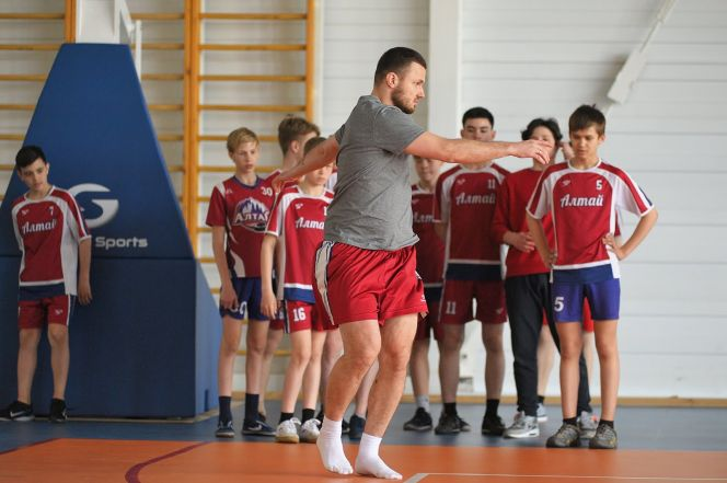 В СШОР «Алтай» провели тренировку по национальной программе «Красная машина» (фотогалерея)