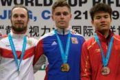 Сергей Каменский - серебряный призёр этапа Кубка мира в Пекине